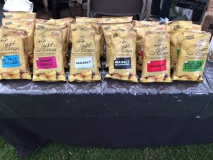 Crisps at Ashby Show